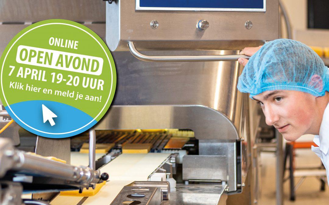 Online Open Avond Food Academy Nijkerk op 7 april