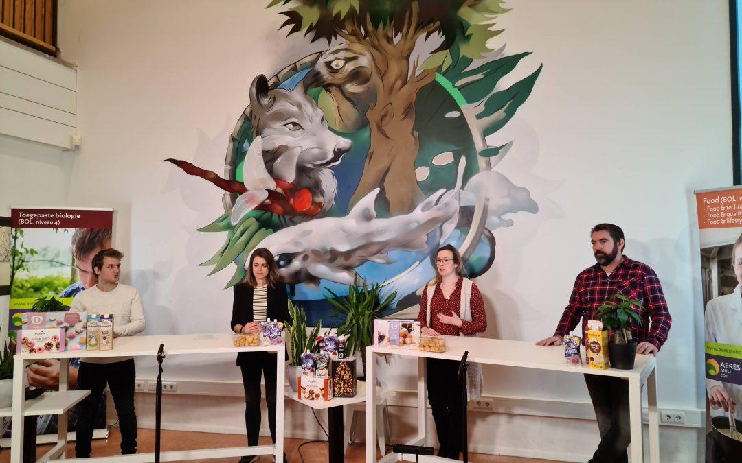Aeres MBO Ede en FAN digitaal om tafel met jongeren over carrière in de foodsector